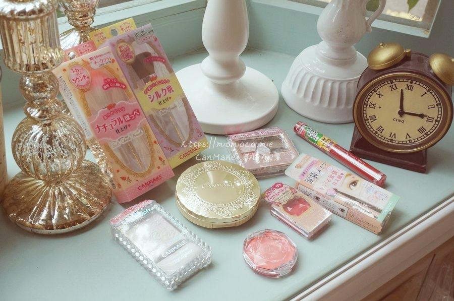 【彩妝戰利品】日本藥妝必買的canmake♥便宜又可愛!忍不住一直買一直買