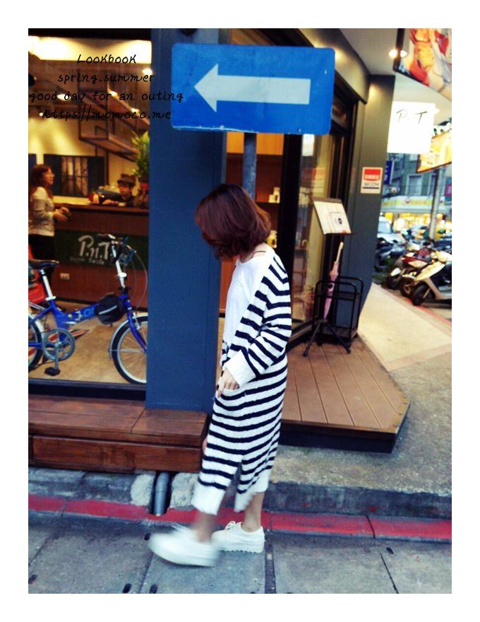 【私服穿搭】最愛休閒風♥白色T恤X牛仔褲裙X厚底休閒鞋!