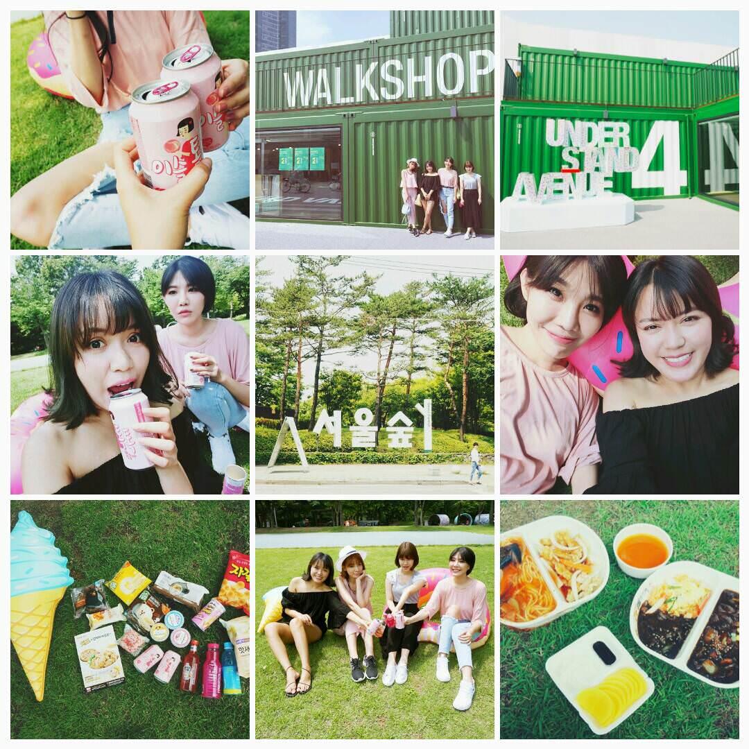 【韓國首爾景點】來去UNDERSTANDAVENUE首爾林貨櫃屋+首爾林公園野餐囉!