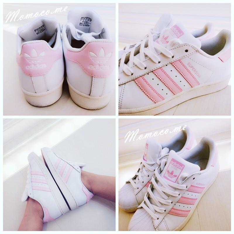 【日本戰利品2016.8月】Adidas originals SuperStar X 超粉嫩可愛的粉紅色新品穿搭分享!