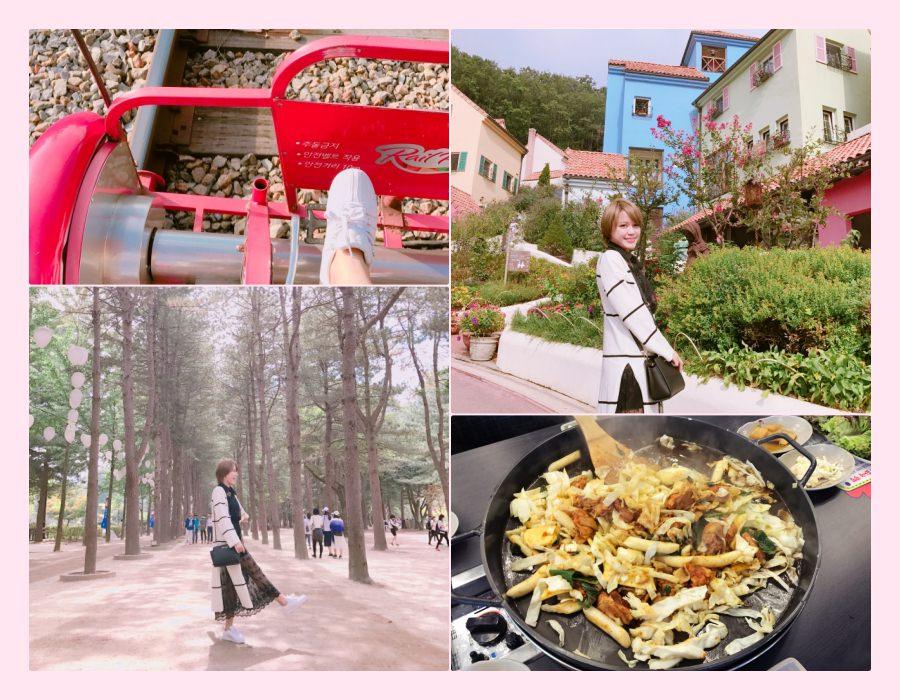 【韓國首爾郊區一日遊】來去韓劇和Running man的拍攝地!有專車接送的小王子村+南怡島+江村RailBike一日遊!