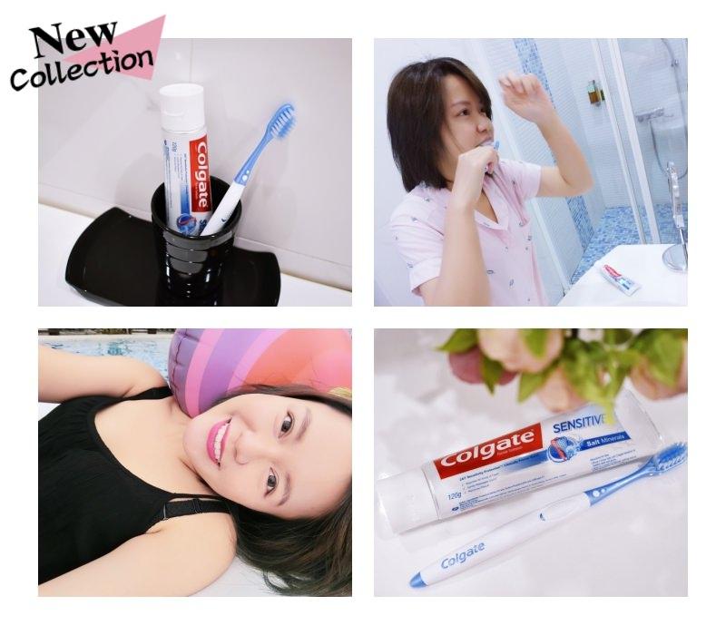 【生活】睡不好、壓力大造成牙齒敏感or牙齦問題!就交給 高露潔抗敏感牙膏-微晶鹽護齦 吧!