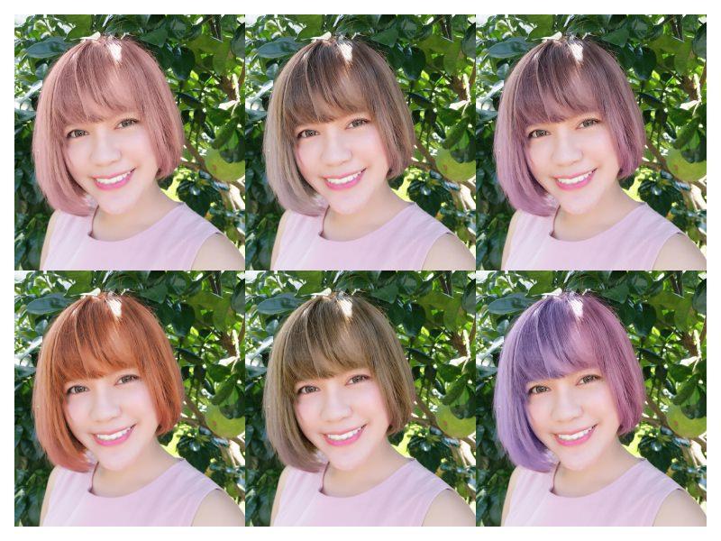 「3C」「染髮造型」 – 先用美妝相機APP染髮功能模擬新髮色到底適不適合你吧!