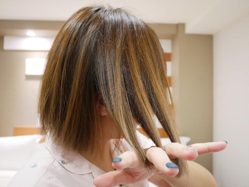 短髮 – 最舒服的洗髮時光!讓我同時放鬆又找回頭髮光澤!草繹 天竺葵亮澤修護系列!