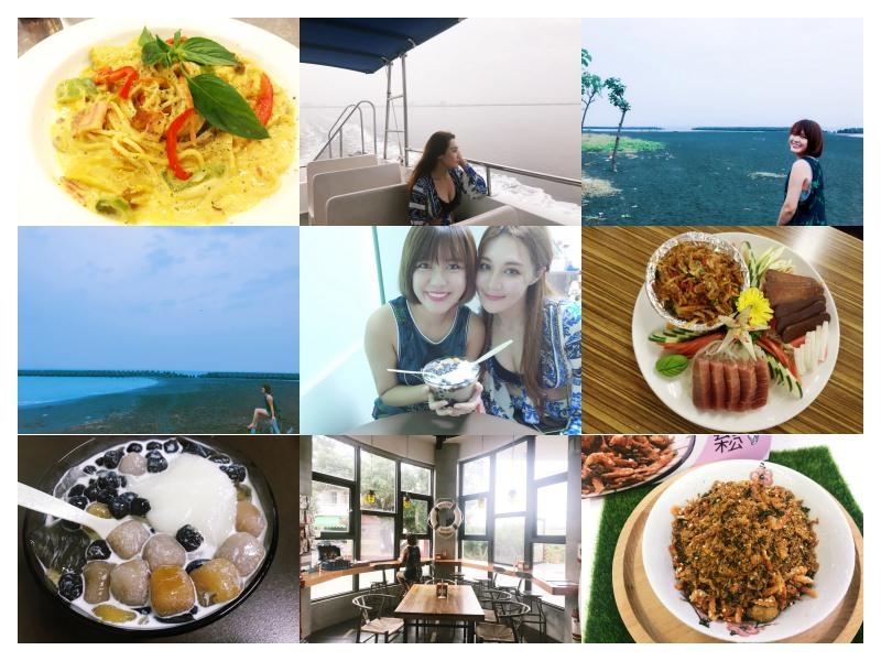 女孩愛旅行!跟毛摳旅遊去 ► 屏東東港 | 吃不完的海鮮美食道地小吃!東港一日遊~搭遊艇、騎腳踏車、買伴手禮!