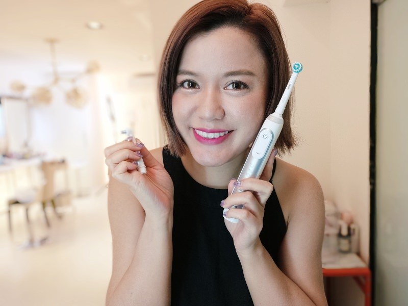 「團購」史上最超值!幾乎是半價的德國百靈Oral-B-3D電動牙刷Genius8000智慧追蹤款!還有專屬牙套族的優惠喔!