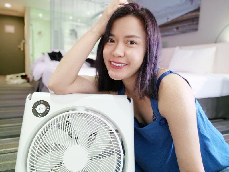 完全不佔空間!超好收納又DC節能省電的DOSHISHA 收納風扇 FLT-254D WH