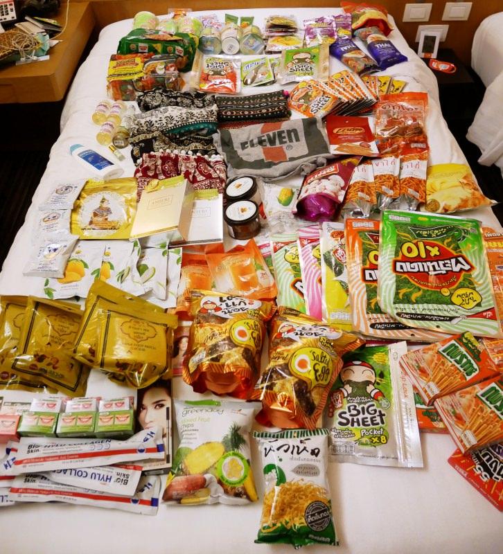 戰利品 | 泰國清邁 餅乾零食、調料包、保養品都買起來吧!