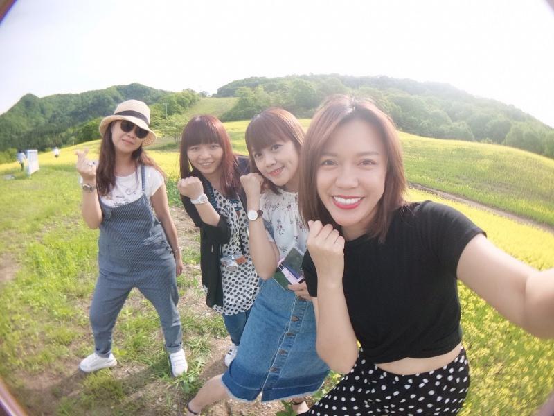 日本福島的網美景點!滿滿的油菜花田就在喜多方市-三之倉高原
