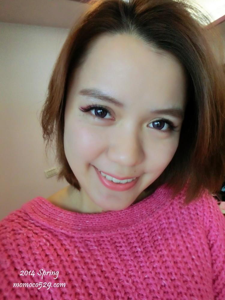 【妝容】早春桃花眼♥來試試棘手的桃紅色眼影吧!