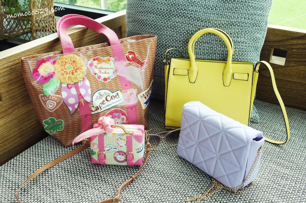 【穿搭】近期最愛的四款夏日粉嫩包分享♥