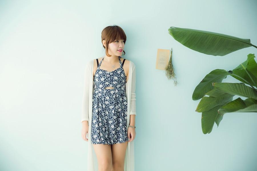 【私服穿搭】炎熱的夏天還是最愛小洋裝了♥