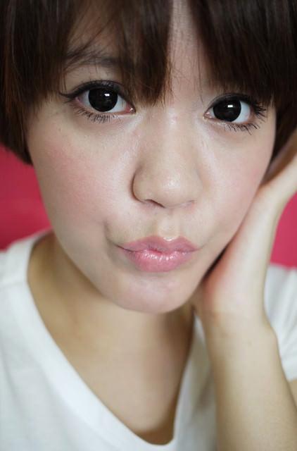 【彩妝】夏日的韓系眼線妝♥10分鐘的簡易化妝法