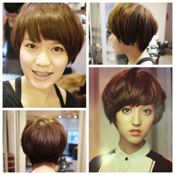 【髮型】剪了大短髮就跟換了個人似的♥真是神奇短髮