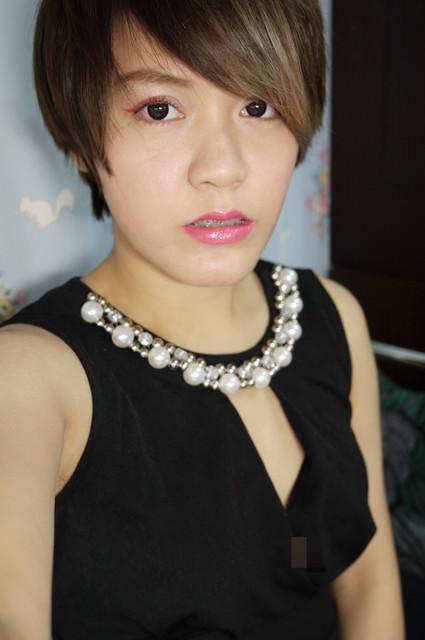 【彩妝】短髮女孩的甜酷妝容♥