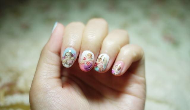 【光療】我的手指住著小天使♥