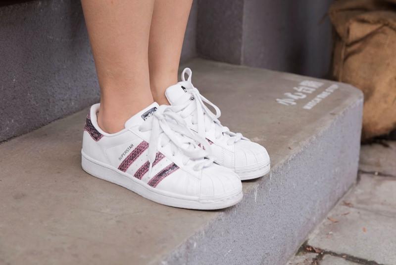 【戰利品】我的新球鞋♥adidas superstar穿搭分享!
