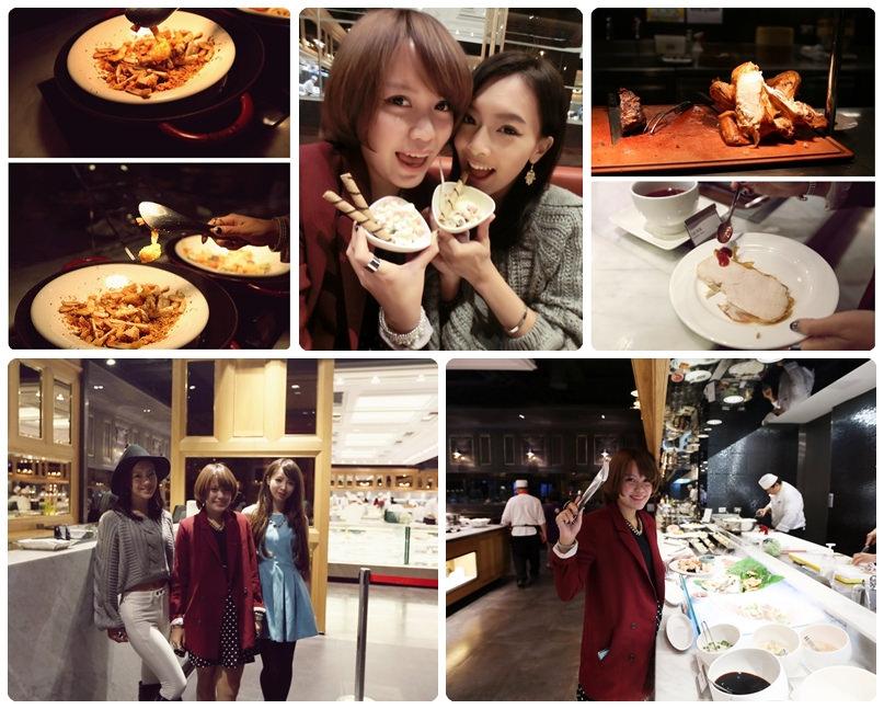 【食記】屬於我們的時尚美食party♥饗食天堂