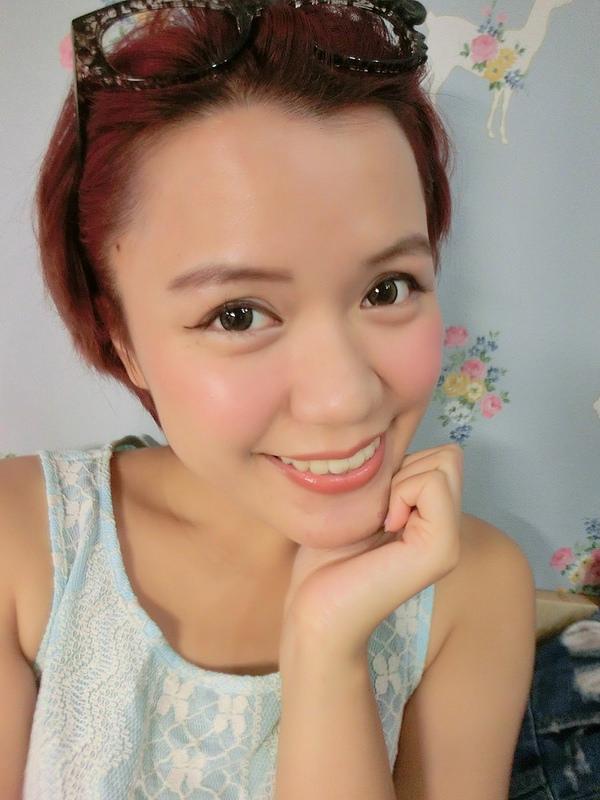 【彩妝】五分鐘就能簡單打造粉嫩氣色妝♥