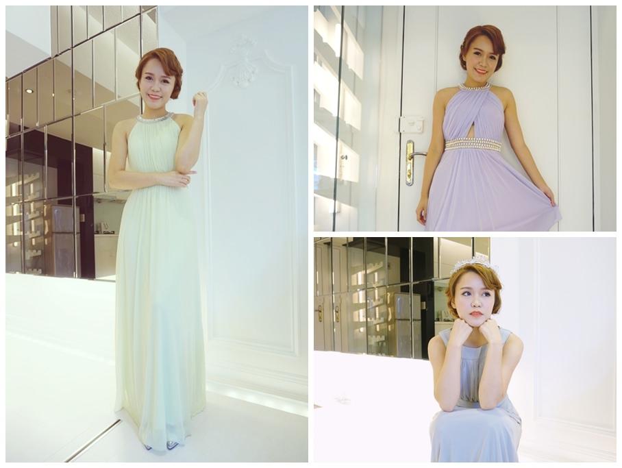 【穿搭】試試氣勢優雅的長版伴娘服的小禮服吧!好適合戶外婚禮喔!