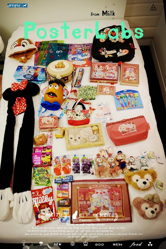 【日本東京迪士尼】太好買了!又是滿床戰利品!達菲、雪莉梅、玩具總動員通通都讓人失心瘋啊!