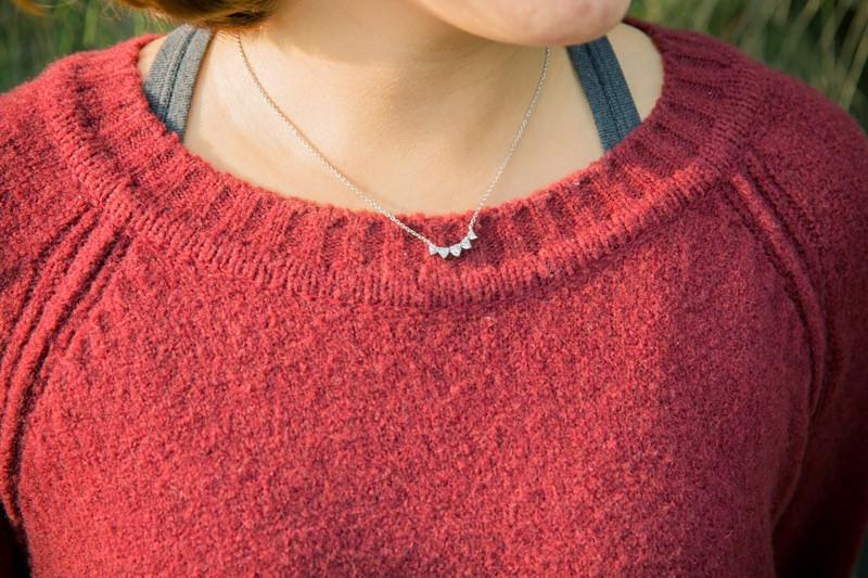 【穿搭】最近好愛這種細緻質感的項鍊♥平價好好買的BOW飾品!