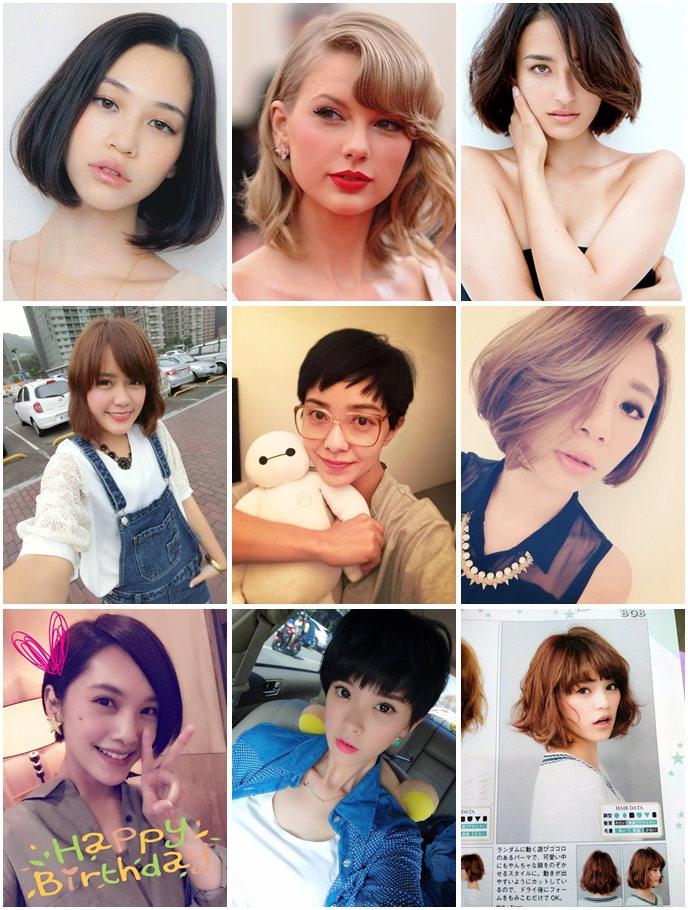 【短髮特輯】一起短髮吧♥2015夏季髮型書!極短髮、半長不短微捲髮、鮑伯頭通通都有♥