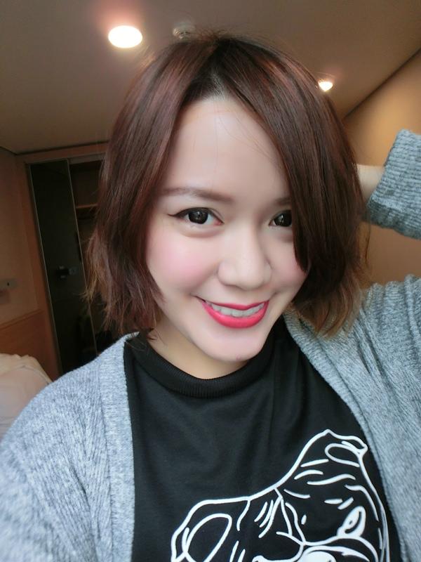 【短髮造型】初次挑戰韓國燙髮去!瀏海燙得好自然~