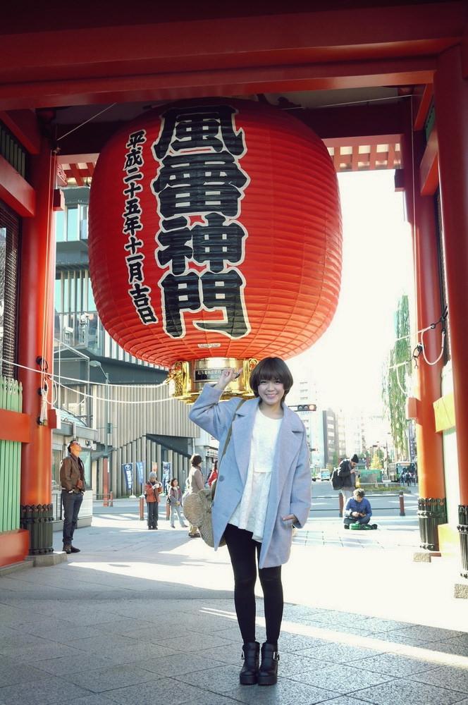 【日本淺草】必報到的雷門♥還有一定要買的超美味波蘿麵包!!!