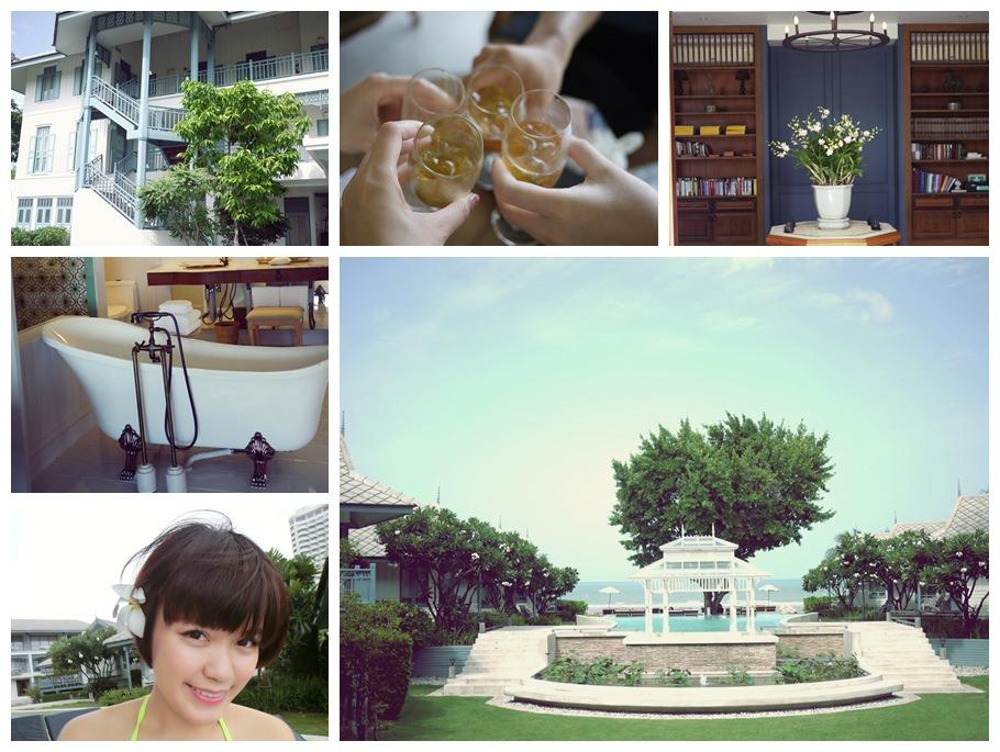 【泰國華欣】美到不想回家!!彷彿世外桃源般的寧靜感♥擁有一望無際泳池的Devasom Huahin Resort