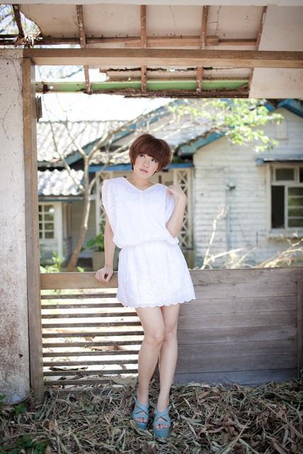 【穿搭】我的收藏癖♥無法抗拒的白色洋裝 x 3Look
