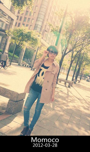 【穿搭】午後陽光♥率性香香風女孩